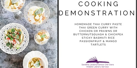 Taste of Asia Cook-A-Long Demonstration with East Coast Cookery School tickets