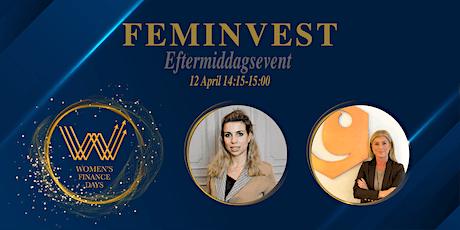 Women's Finance Days x Feminvest  bjuder in till Livepodd biljetter