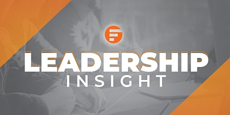 Leadership Insight tickets