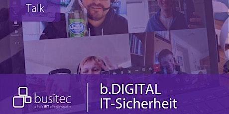 Business-Talk: IT-Sicherheit als neuer Business Enabler Tickets