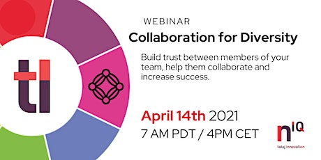 Your Network IQ Development - Collaboration for Diversity tickets