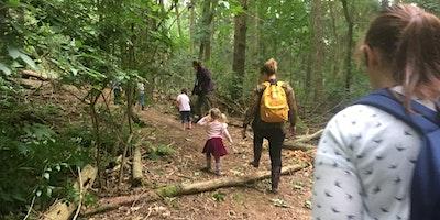 Forest School Parent & Child session @ The Hub, Bodiam