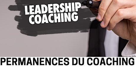 Permanences du coaching tickets