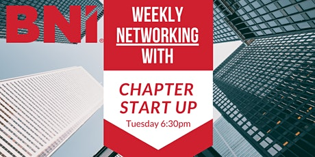 ONLINE Networking with BNI Chapter Startup tickets