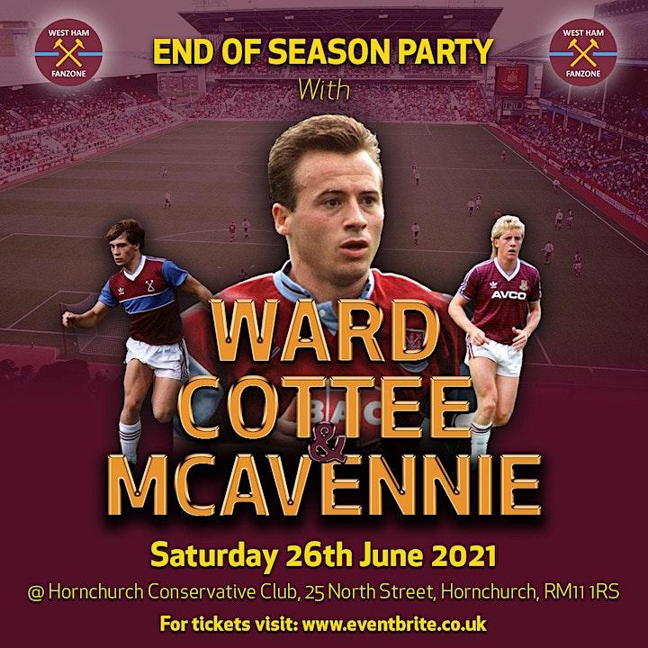 West Ham End of Season Party image