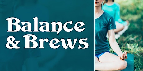 Balance and Brews tickets