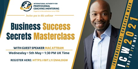 Business Success Secrets Masterclass tickets
