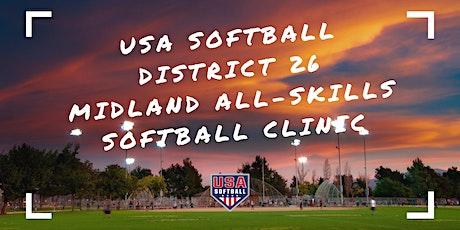 Midland All-Skills Softball Clinic-Presented by USA Softball & RecFirst tickets