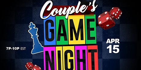 Couple's Game Night tickets