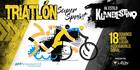 Triatlón Super Sprint Klandestino tickets