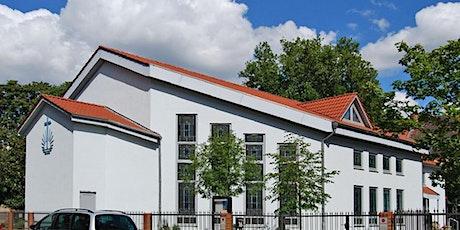 Anmeldung zum Himmelfahrtsgottesdienst, Gemeinde Halle (Saale) billets