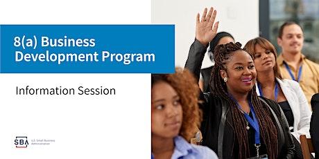 SBA's 8(a) Business Development Program and HUBZone Program Webinar tickets