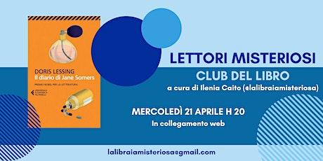 Club del Libro dei Lettori Misteriosi - 21 Aprile 2021 biglietti