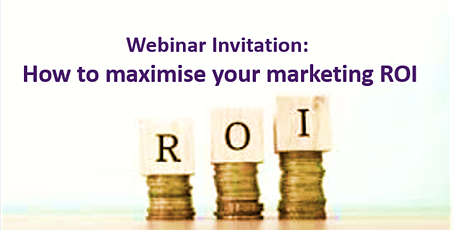 Maximising your Marketing ROI in 3 easy steps tickets