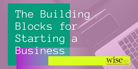 Building Blocks for Starting a Business tickets
