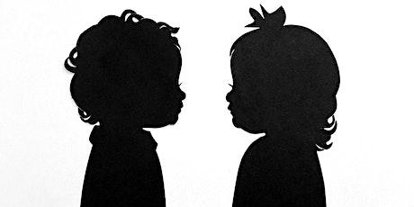 Teacups and Tadpoles-Hosts Silhouette Artist, Erik Johnson $25 Silhouettes tickets