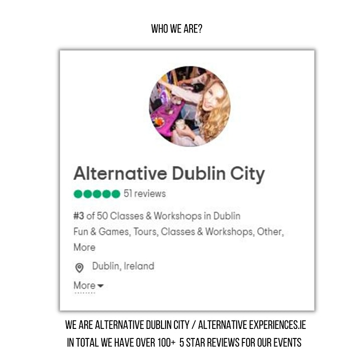 Dark Dublin Virtual Tour: The Gruesome & Dark History (Saturday 5pm) image