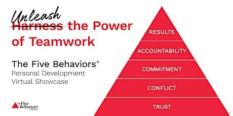 The Five Behaviours: Unleash the Power of Teamwork Showcase Webinar tickets