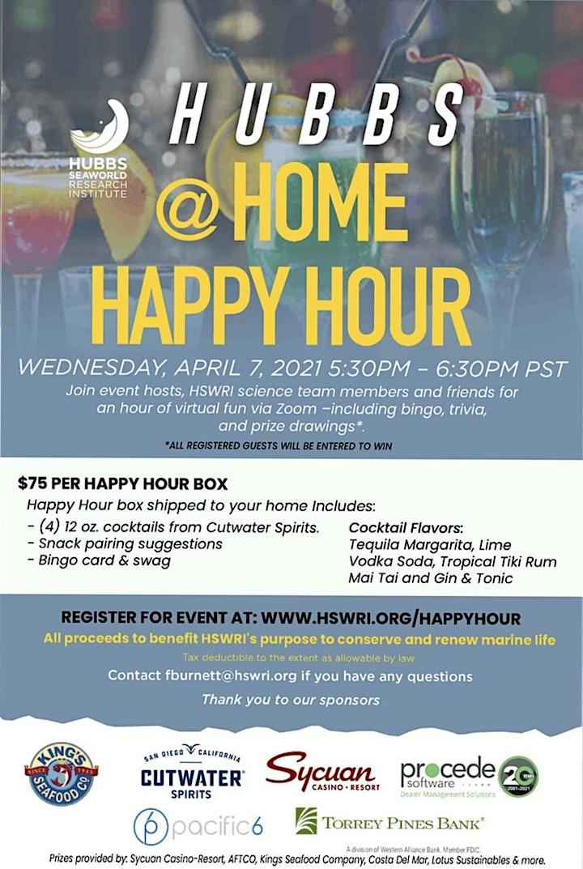 Hubbs @Home Happy Hour image