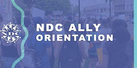 NDC Ally Orientation tickets