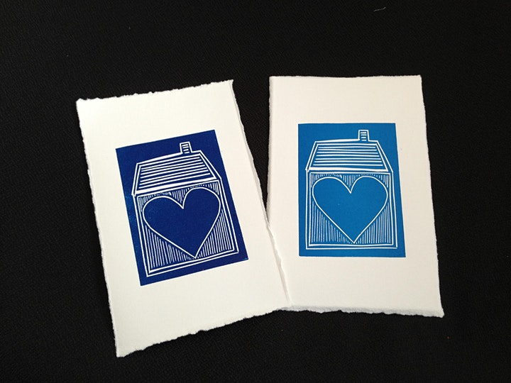 An Introduction to  Linocut with Joanna Briar image