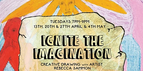 Ignite The Imagination Creative Drawing Course with a professional artist tickets