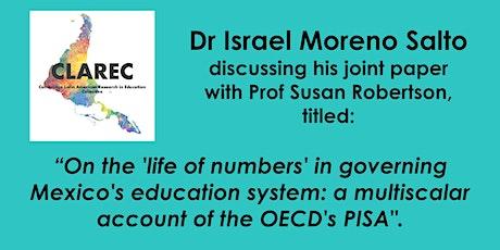 CLAREC Seminars with Dr Israel Moreno Salto entradas