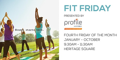 Fit Friday Presented by Profile by Sanford tickets