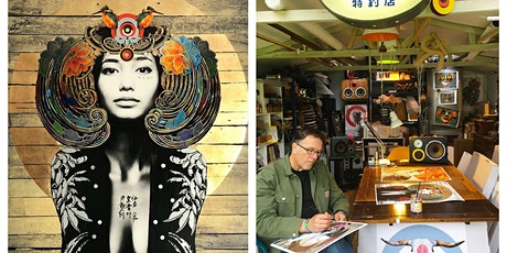 """Gareth Tristan Evans """"Urban Geisha"""" Exhibition Launch - July 2021 tickets"""