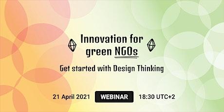 WEBINAR | Innovation for green NGOs tickets