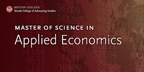 Boston College Applied Economics – Graduate Showcase and Career Event tickets
