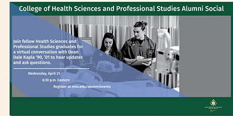 College of Health Sciences and Professional Studies Alumni Social tickets