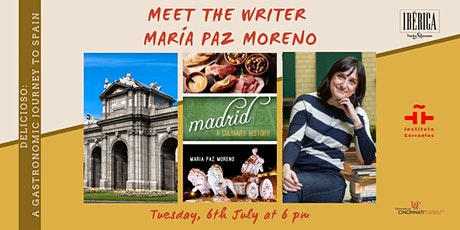 Madrid: A culinary History. Meet the writer María Paz Moreno entradas