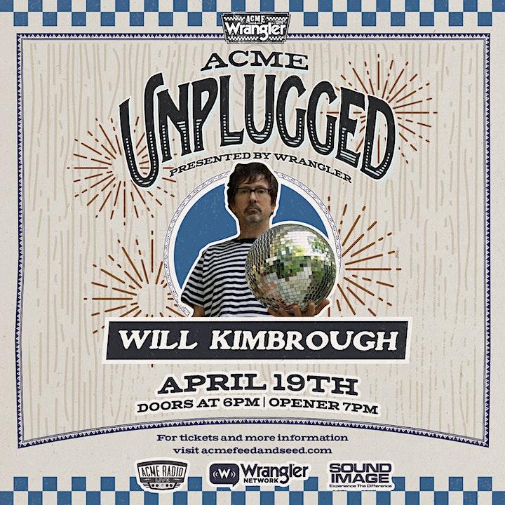 Acme Unplugged - Will Kimbrough & Erin Rae image