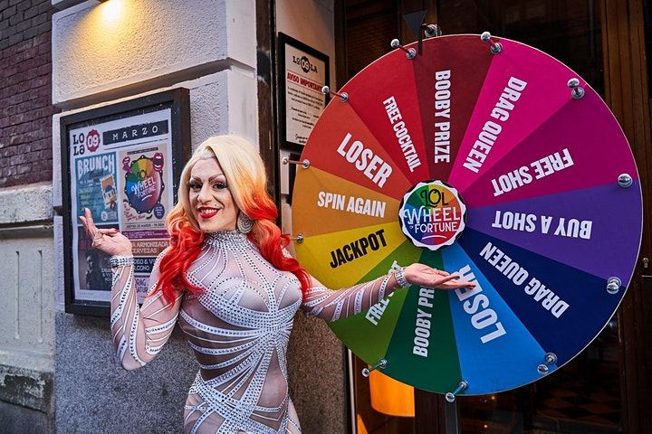 Imagen de LOL WHEEL OF FORTUNE - the first Drag roulette game show in Madrid