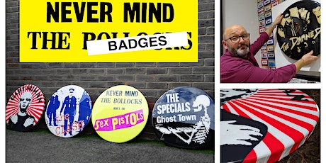 "Tony Dennis ""Never Mind the Badges"" Exhibition Launch - June 2021 tickets"