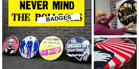 Giant Badge Art Exhibition - 25th June to 11th July - Free tickets