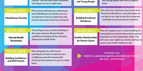 Building Confidence & Self-Esteem with Rebecca tickets