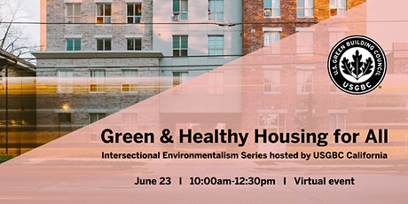 Green & Healthy Housing for All tickets