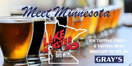Gray's Presents: Meet Minnesota - Lake Monster Brewing tickets