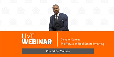 Garden Suites – The Future of Real Estate Investing