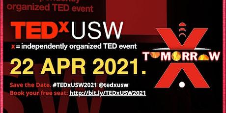 TEDxUSW 2021: Tomorrow tickets