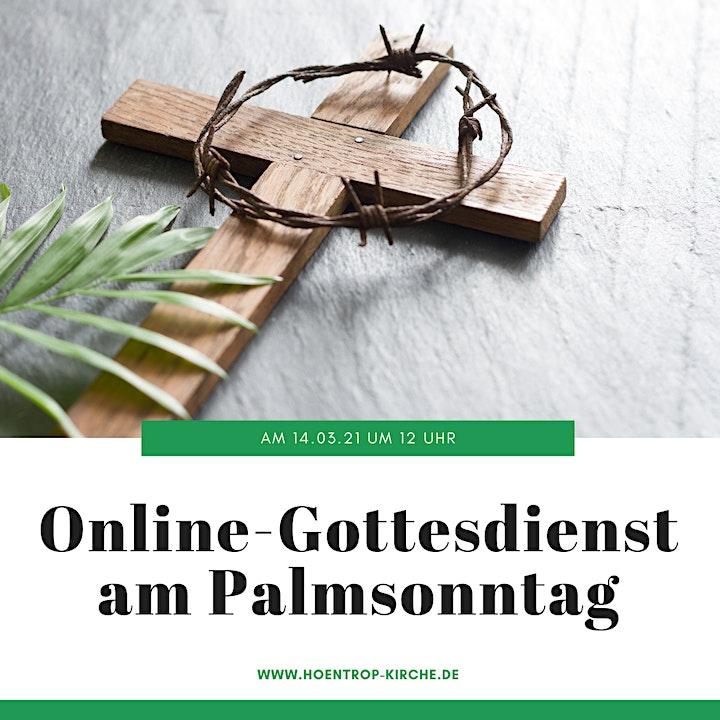 Online-Gottesdienst am Palmsonntag: Zwischen Jubel und Verzweiflung: Bild