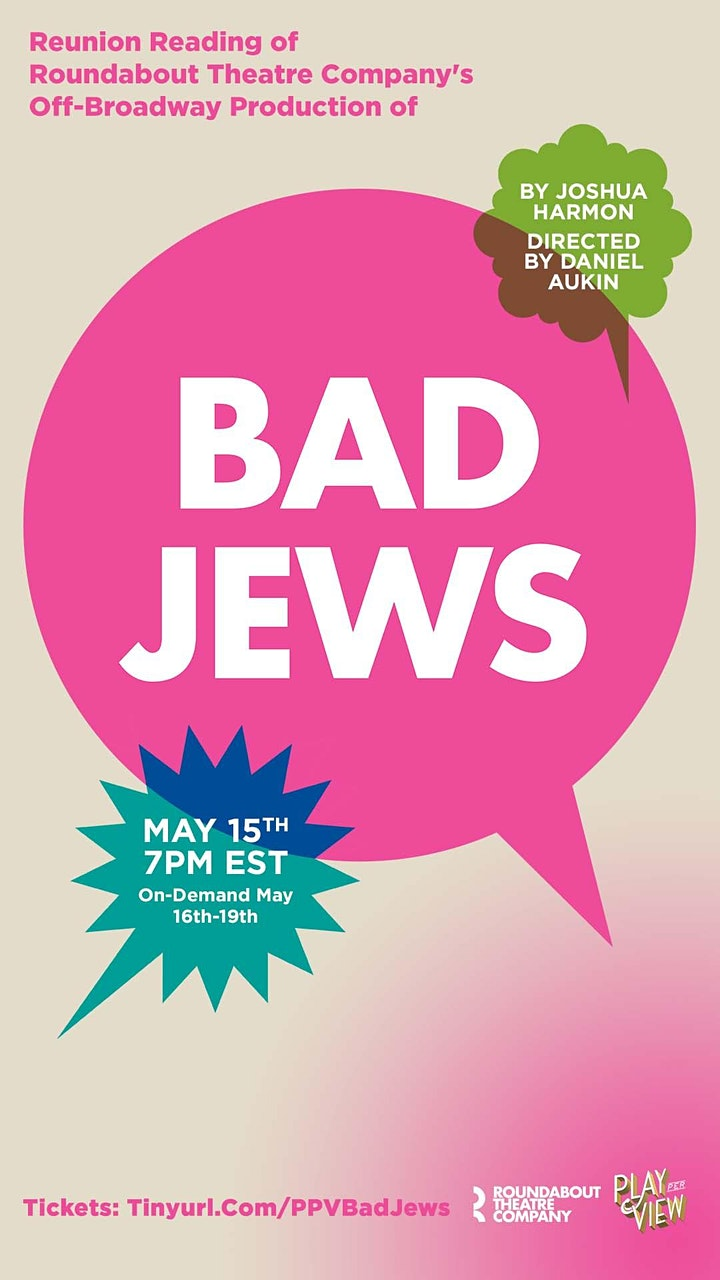 Play-PerView: Bad Jews (Off-Broadway Reunion Reading) image