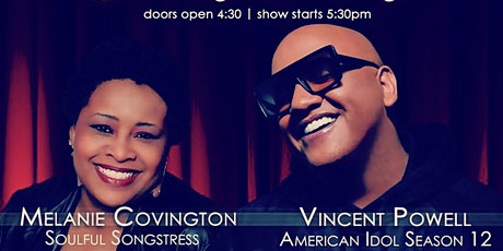 Sunday Funky Funday w Melanie Covington Feat Vincent Powell 4/18/21 tickets
