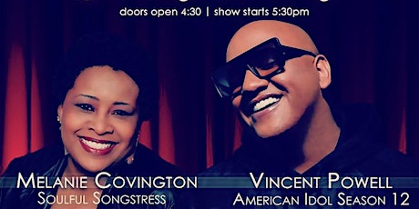 Sunday Funky Funday w Melanie Covington Feat Vincent Powell 4/25/21 tickets