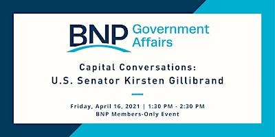 Capital Conversation: U.S. Senator Kirsten Gillibrand