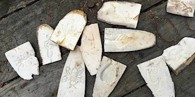 Pewter Casting in The Woods with Cuttlefish bone