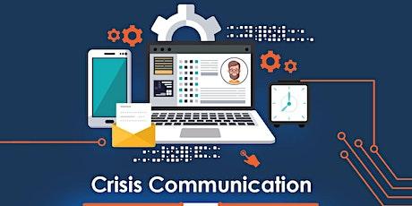 Crisis Communication Workshop tickets