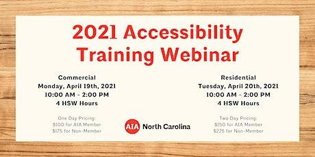 2021 Accessibility Training Webinar tickets